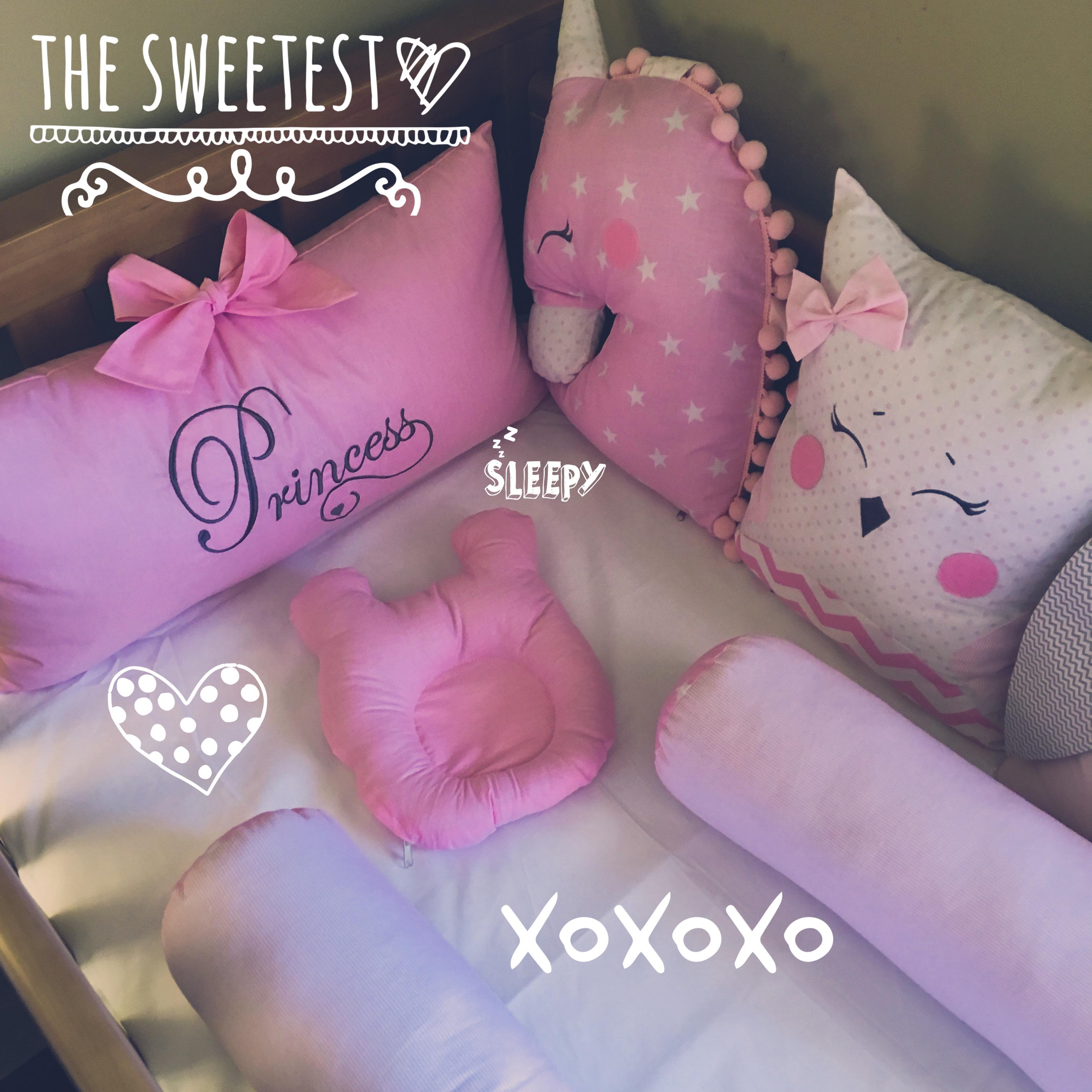 Ukraine Baby Bedding Set 9 Pieces Little Dreamer