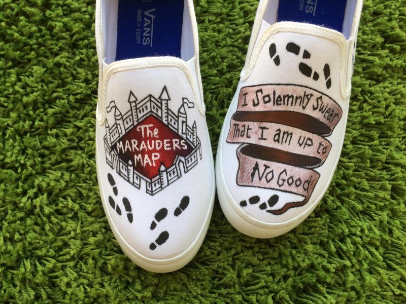 5dbe55e17ae8 Harry Potter Shoes